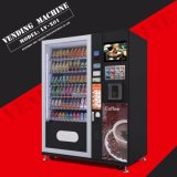 com bebida do preço e a máquina de Vending frias LV-X01 do petisco