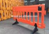 Barreiras enchidas da estrada água Emergency
