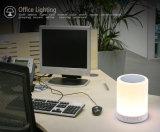 Lumières colorées de lampe Bluetooth de haut-parleur portatif de DEL