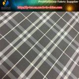 /Blanco tela teñida hilado gris en el calendario tejido poliester para la ropa (YD1034)
