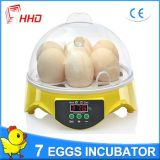 Incubatrice automatica dell'uovo di Hhd da vendere le uova Yz9-7 7