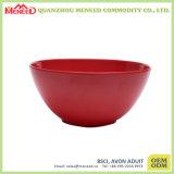 Ceramic Like Cracker design Pão de melamina Bowl