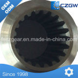 Engranaje del tambor de alta precisión personalizada del engranaje de transmisión de piezas de maquinaria