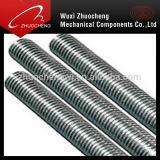 Amorçage galvanisé Rod de la pente 8.8 de la pente 4.8 de l'acier à faible teneur en carbone DIN975