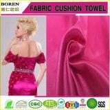 Robe de soirée de femmes de tissu de satin de vêtement de mode de dames
