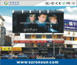P6mm 옥외 광고 게시판 풀 컬러 LED 스크린