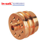 Alta qualidade de bronze de giro da válvula de ar do legado do perfume do CNC