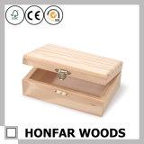 DIY 까만 나무로 되는 포도주 상자 선물 상자 포장 상자