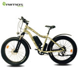 bici de montaña eléctrica del neumático gordo grande de la potencia de 26*4.0 1000W