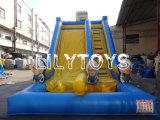 Compra inflable de la despedida de Lilytoys de la diapositiva de la diapositiva combinada inflable del puente