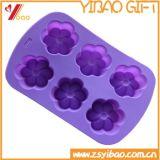 Moulage de gâteau de silicones de FDA avec la forme ronde