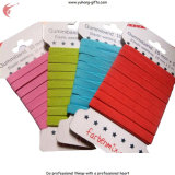 Cinta elástico coloreada tejida para la ropa interior (YH-ET020)