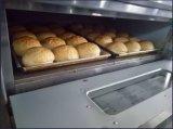 Forno elétrico do anúncio publicitário da galdéria do ovo da pizza do pão da padaria do forno da Quatro-Bandeja da Dobro-Camada