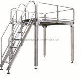 Plataforma de apoio do aço inoxidável para o pesador de Multihead