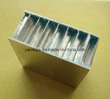 Los paneles de aluminio revestidos del panal del rodillo de PE/PVDF para las paredes exteriores e interiores