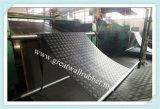 Antislip RubberMat, de Mat van de Vloer, RubberBevloering met Iso9001- Certificaten