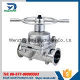 Soupapes à diaphragme pneumatiques de dispositif d'entraînement de l'acier inoxydable Ss316L de la Chine