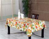 Tampa de tabela impressa PVC colorida popular quente do projeto com revestimento protetor de tela