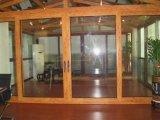 Spätester Entwurf hölzerne Aluminuim Tür