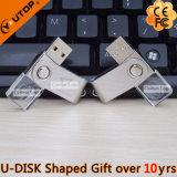 Drehendes Kristall-USB-Feder-Laufwerk als fördernde Geschenke (YT-3270-06)