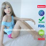 128cmの肛門金属の骨組口頭膣が付いている実質の性の人形