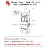Machine de découpage / découpage et d'estampage de granit hydraulique en granit