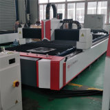 Machine simple de laser de fibre du Tableau 1500W pour le découpage en métal