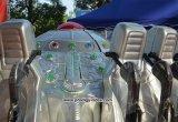 12 portées refroidissent la cour de jeu extérieure de conduites de Kiddie d'UFO à vendre