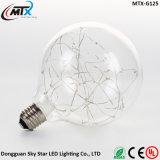 Bulbo decorativo do fio de cobre da corda do diodo emissor de luz da luz feericamente do feriado do Natal
