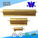 Rx24 tipo resistor Wirewound de aluminio del oro de 50W (ISO9001 aprobados)