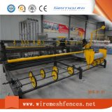 Machine de tissage à grande vitesse de treillis métallique de maillon de chaîne de fil de Doubel