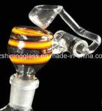 Impianti offshore favolosi di vetro dell'uovo del tubo di acqua del nuovo riciclatore variopinto caldo di E-Cig per fumare