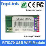 Module sans fil encastré par USB de Toplink Rt5370 802.11bgn 150Mbps pour à télécommande avec la FCC de la CE