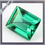 Pietra preziosa termoresistente Spinel/Nano sintetica figura verde/rotonda