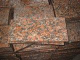 かえでの赤い花こう岩の磨かれたフロアーリング