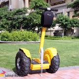 """Bicicleta de pé da sujeira do balanço do auto do """"trotinette"""" de motor da bicicleta elétrica de 2 rodas"""