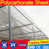 Hoja del material para techos del policarbonato de los materiales de construcción