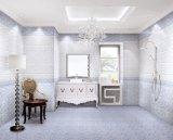 Uso di ceramica delle mattonelle della parete di disegno popolare per la stanza da bagno