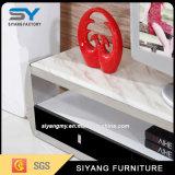 Heißer verkaufenspiegel-Möbel Fernsehapparat-Tisch Fernsehapparat-Schrank mit Fächern