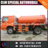 Camion di serbatoio di eliminazione della fogna dell'autocisterna del camion delle acque luride di HOWO 8000L 10000L 12000L