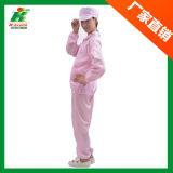 Одежда работы ESD для пользы Cleanroom куртки и тяжелое дыхание