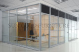 Modernes Muebles Büro-fehlerfreie Beweis-Trennwand-Glaspreise (SZ-WST783)