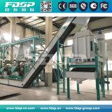 Ligne de production de pastille de biomasse de sciure de bois de 1-2t / H