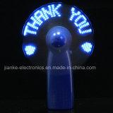 Mini DEL ventilateurs de vente instantané chaud avec le logo estampé (3509A)