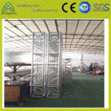 Квадрата болта винта системы ферменной конструкции освещения оборудования этапа ферменная конструкция алюминиевого большая