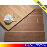 azulejo de suelo de cerámica de Porcleain de la mirada de madera de la alta calidad de 600*600m m (6601)