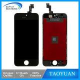 Schwarzweiss-Farben-Glasnoten-Abwechslung LCD-Bildschirm für iPhone 5s