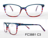 Jeunes glaces de bâti de lunetterie de modèle neuf, acétate de bâtis optiques