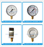 S Press Gauge-Bottom Connection Gauge- Mechanical Manometer