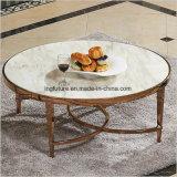 둥근 스테인리스 호텔 주요 커피용 탁자